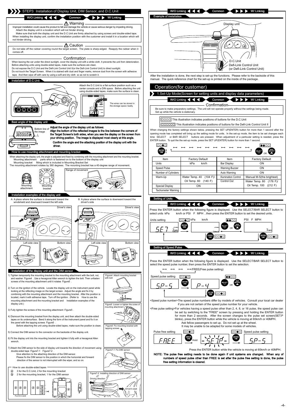operation for customer confirmation warning defi link vsd x rh manualsdir com VFD Circuit Diagram Membranous VSD Echo