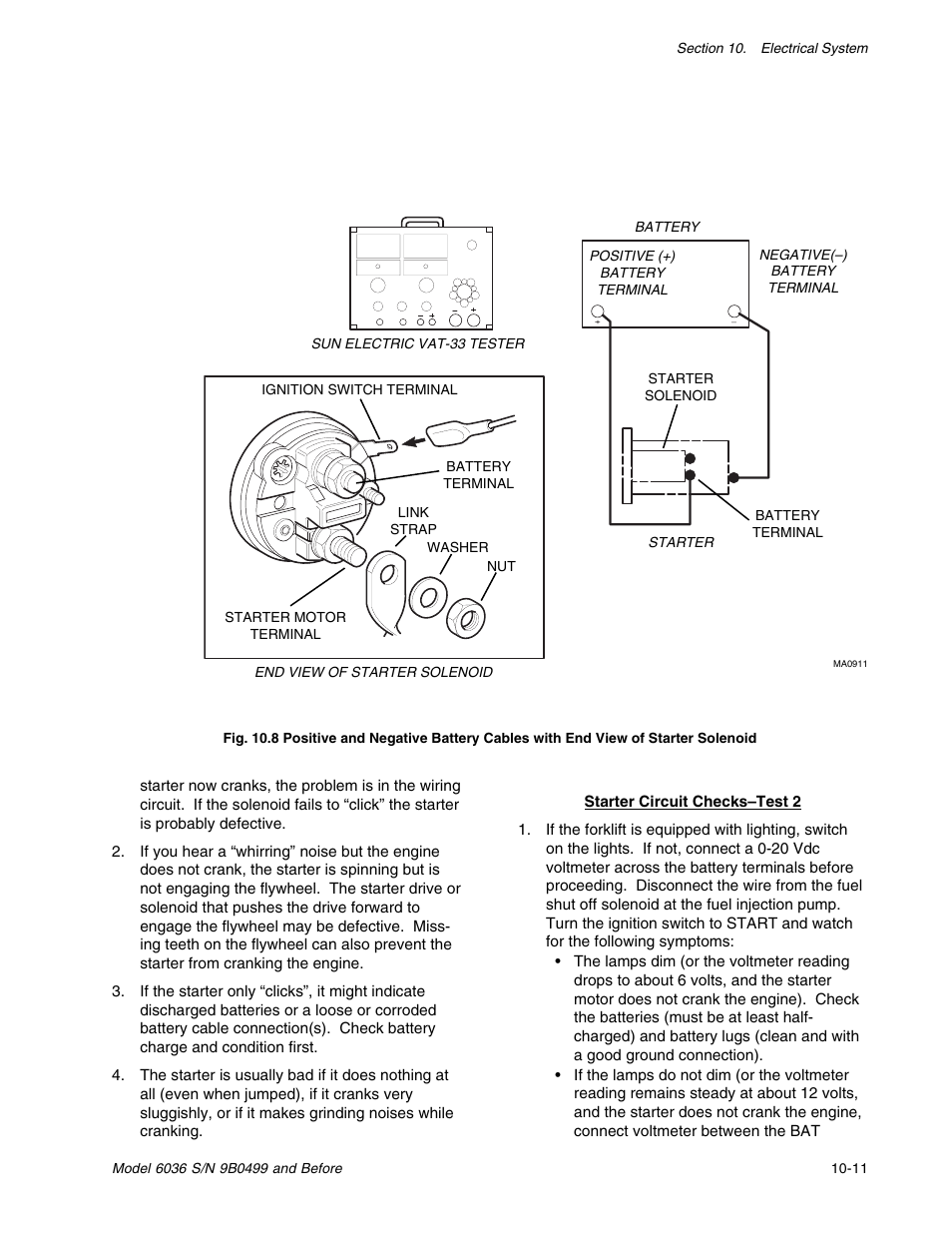 Skytrak 6036 Service Manual User Page 205 280 Push On Ignition Switch Wiring Diagram