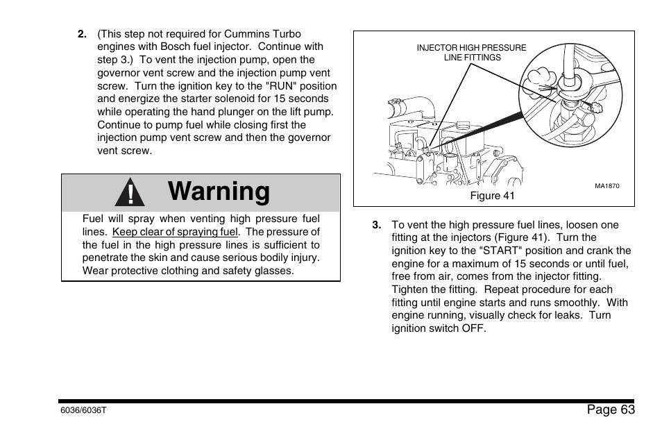 Warning | SkyTrak 6036 Operation Manual User Manual | Page