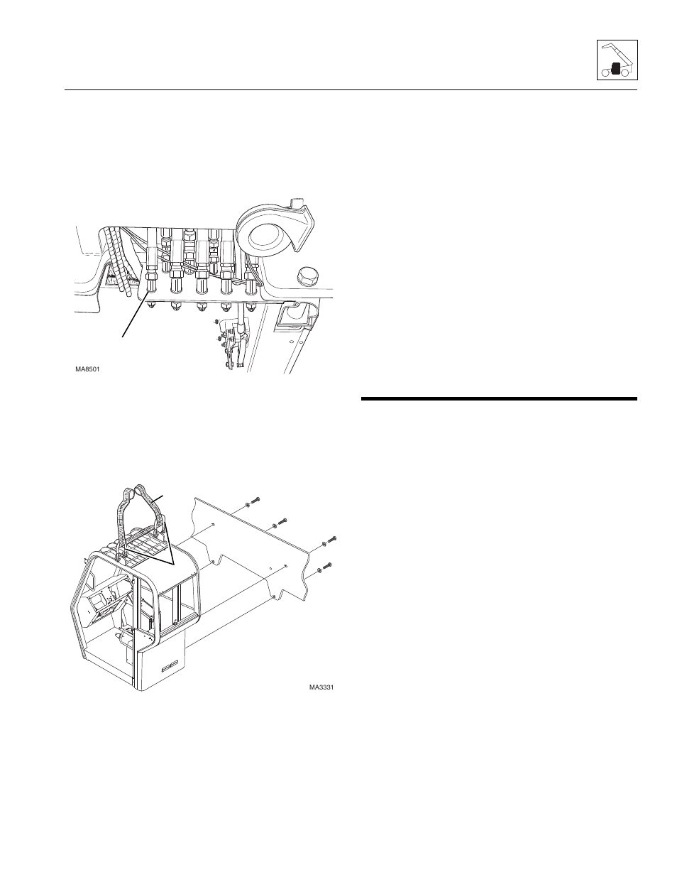 Skytrak 8042 Wiring Diagram Yale Glp060 Jcb 506c 5 Cab Installation Service Manual On