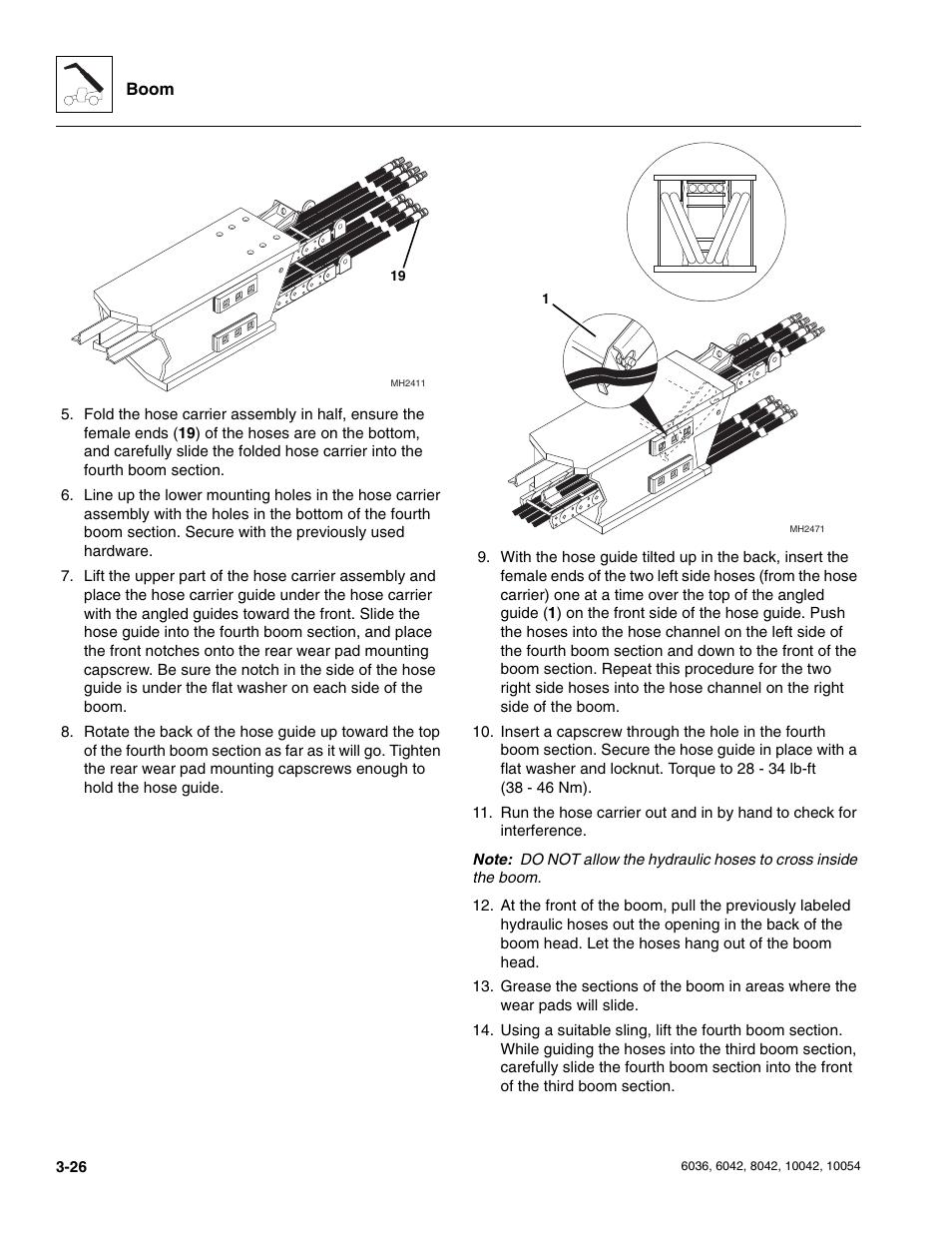 Skytrak 6036 Service Manual User Manual