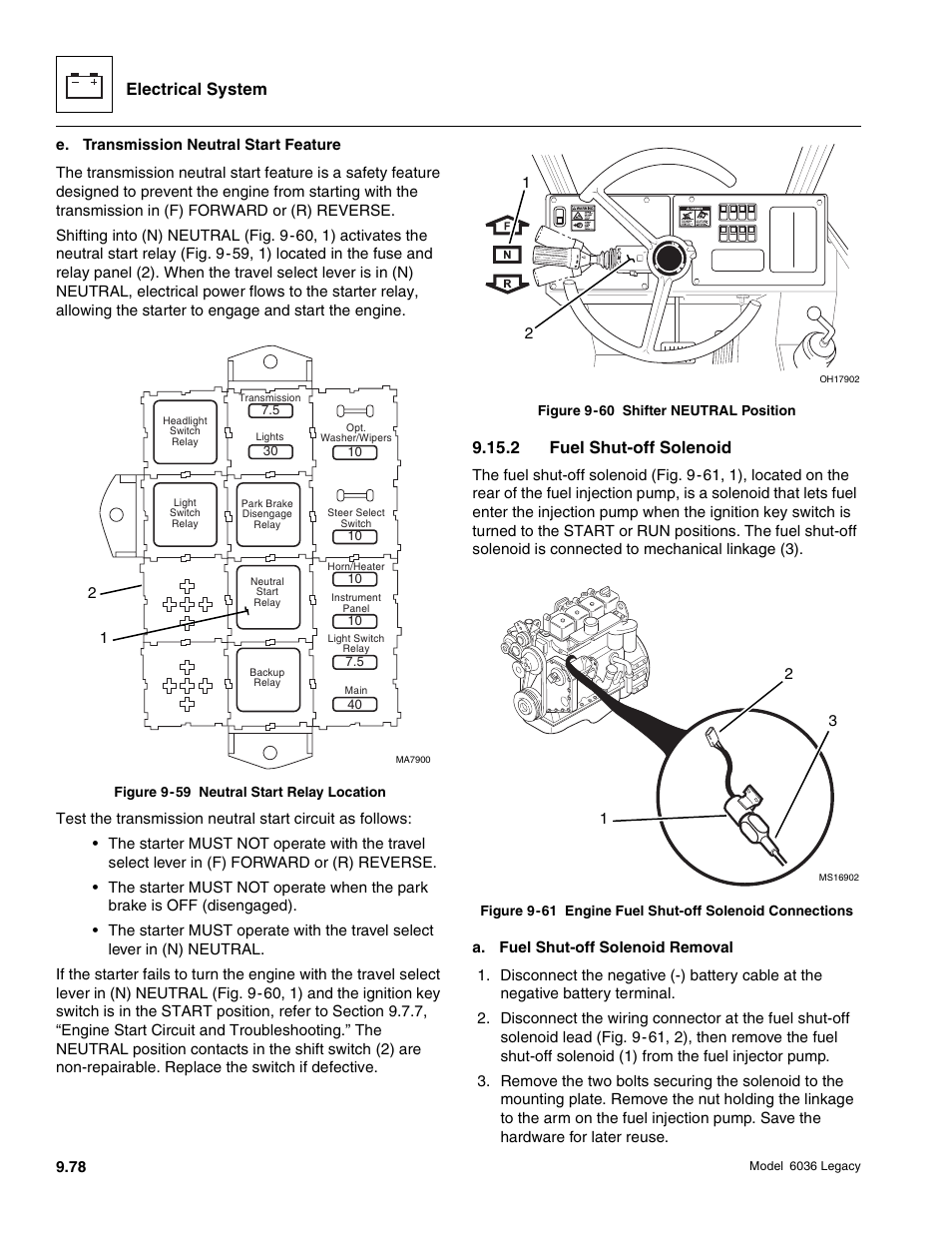 skytrak 6036 service manual page430 electrical system, 2 fuel shut off solenoid skytrak 6036 service skytrak 6036 wiring diagram at bayanpartner.co
