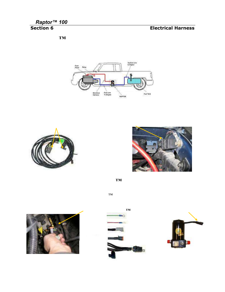 Connecting The Raptor To Ecm Lead Figure 17 18 Pin Connector Wiring Harness Pureflow Airdog Rp 150 Dodge Cummins 19985 2002 User Manual Page 13 19