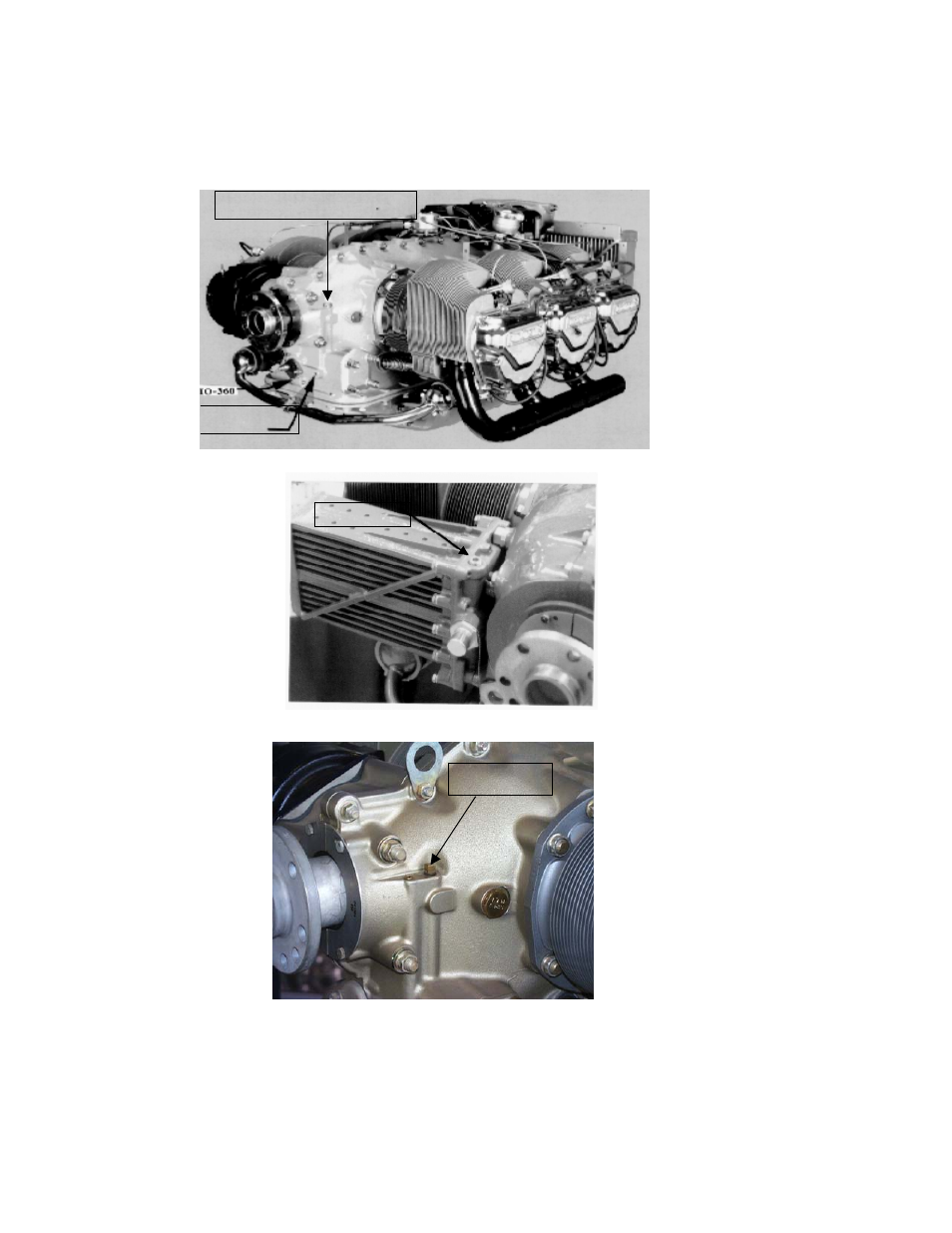 Io-360, Continental engines oil probe location, O-470 | J.P. Instruments  EDM 730 Instrument Installation Manual User Manual | Page 6 / 30