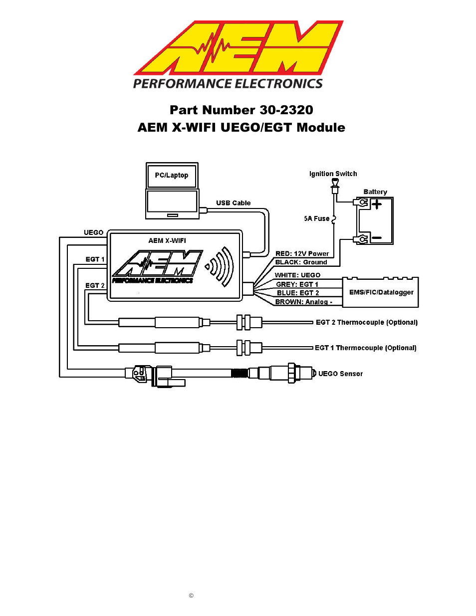 aem wideband wiring diagram