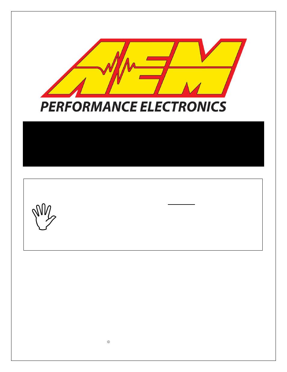 AEM V Water Methanol Injection Kit HD Controller User - Aem water methanol kit wiring diagram