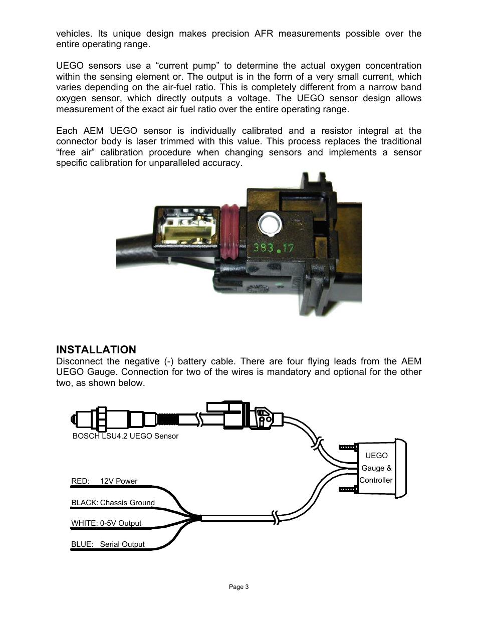 Aem Wideband 35-8460 Wiring Diagram from www.manualsdir.com