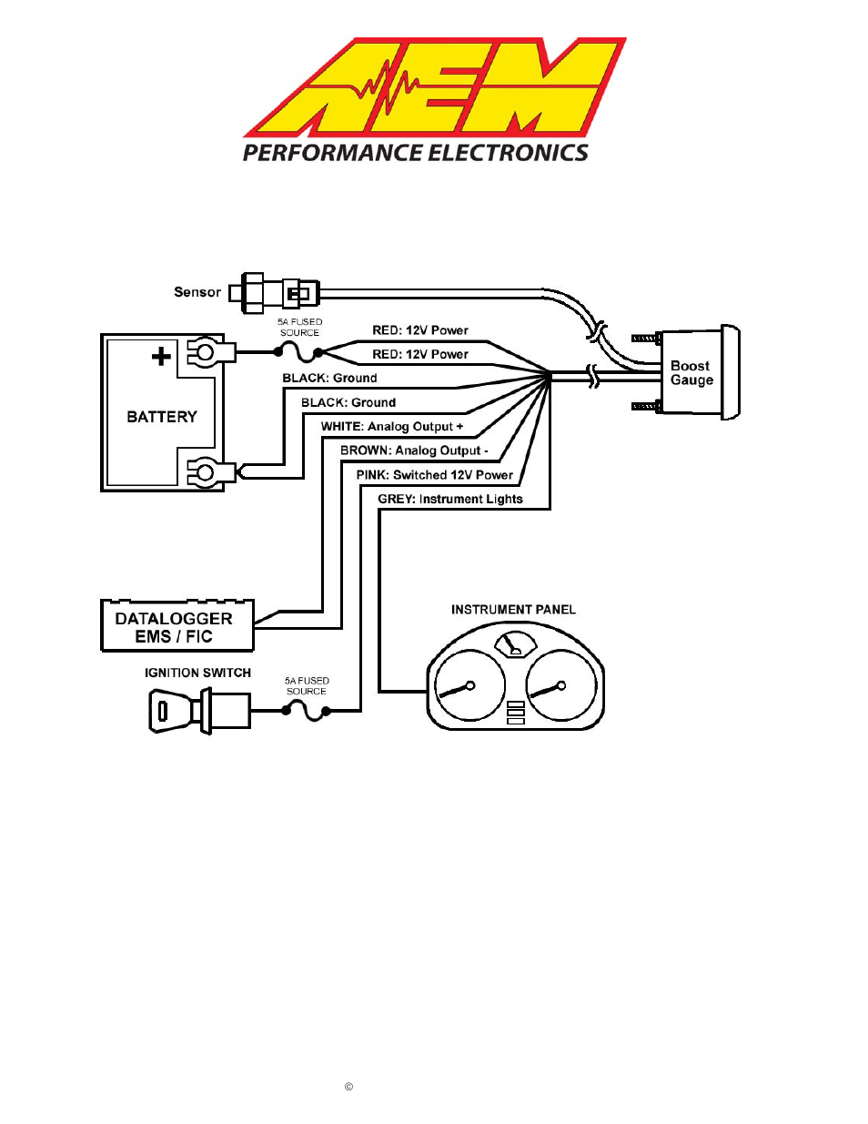AEM 30-5132M Analog Boost Metric Gauge User Manual | 7 pages | Also for:  30-5132 Analog Boost SAE Gauge