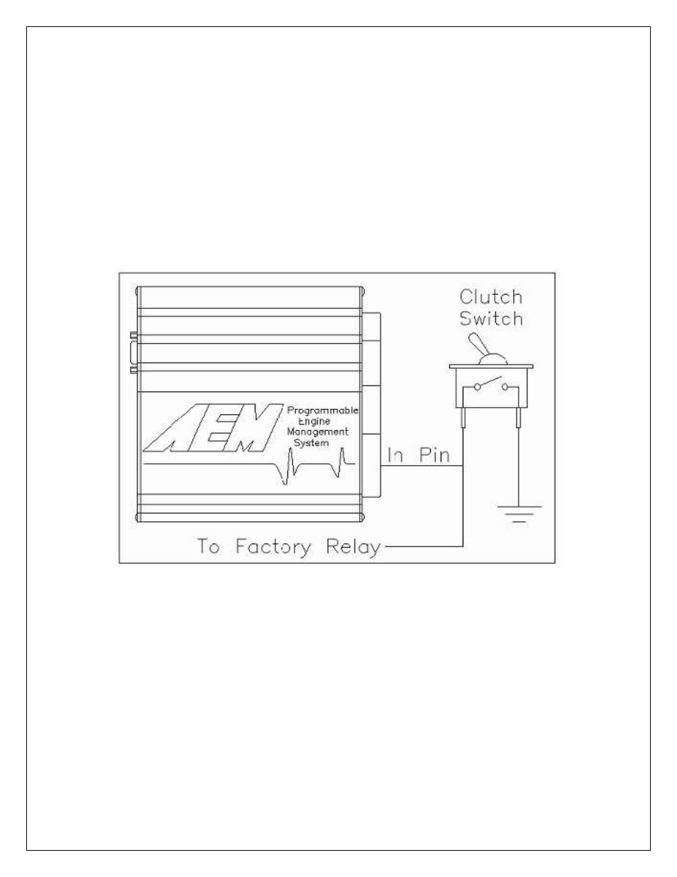 2step Rev Limiter Aem 30 6905 Universal Programmable Ems 4 User Wire The Switch In As Shown Below Manual Page 242 279