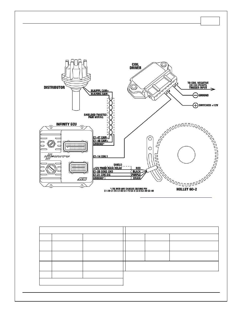installation msd distributor holley 60 2 crank trigger kit aem rh manualsdir com Owner's Manual Instruction Manual