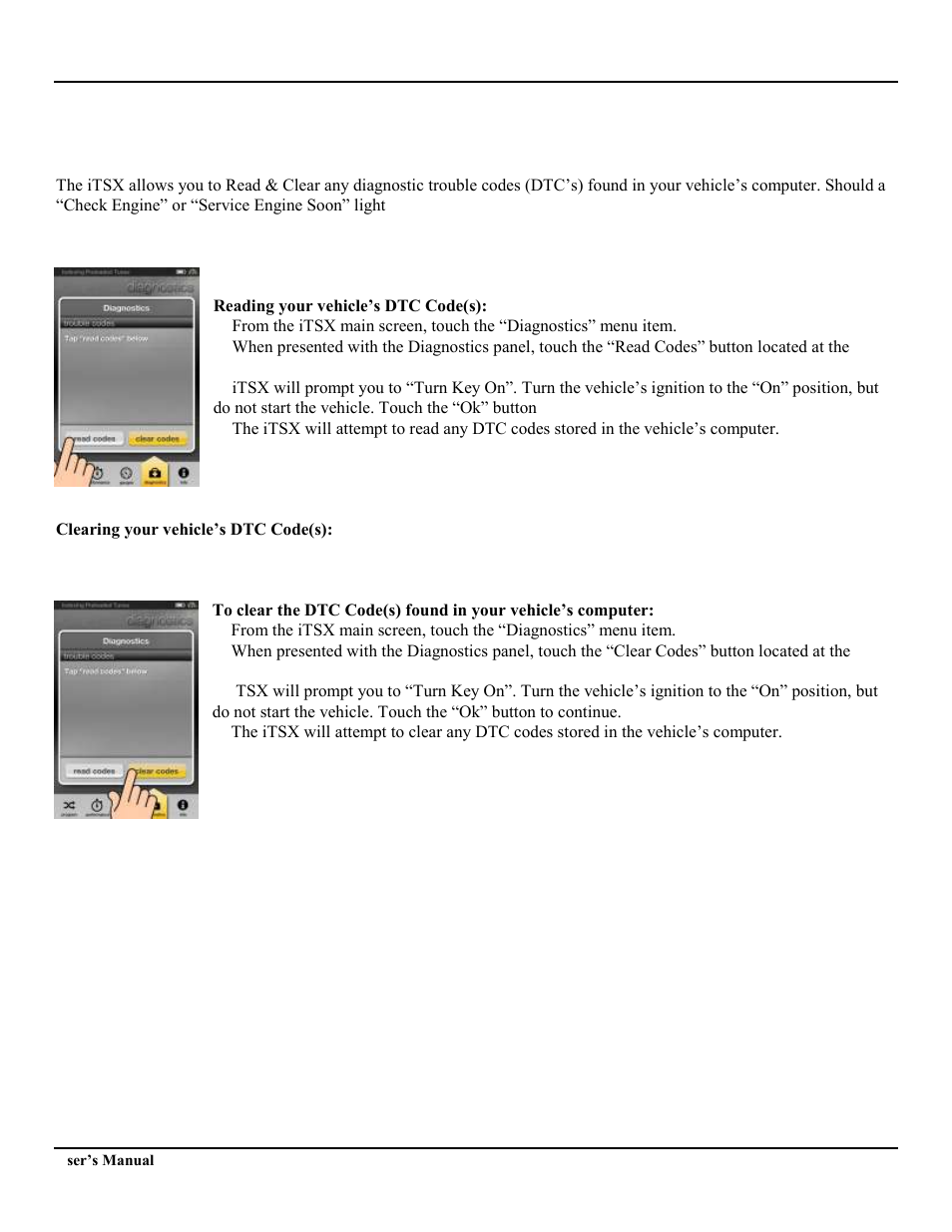 SCT iTSX (Ford 4015,GM 4416 ) User Manual | Page 15 / 18