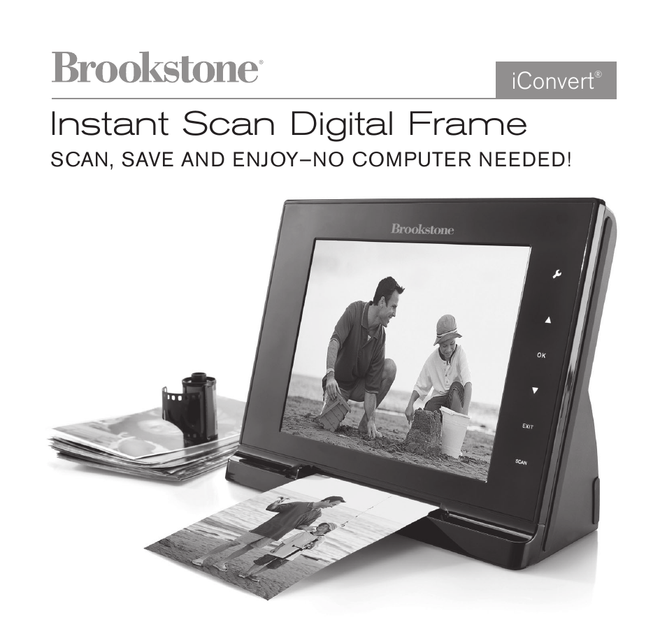 sony picture frame instructions