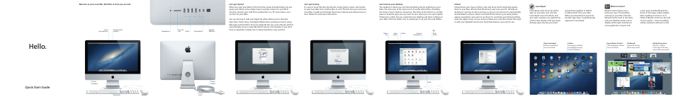 apple imac 21 5 inch early 2013 education only user manual 2 rh manualsdir com Nook Quick Start Guide Quick Start Guide Windows 7