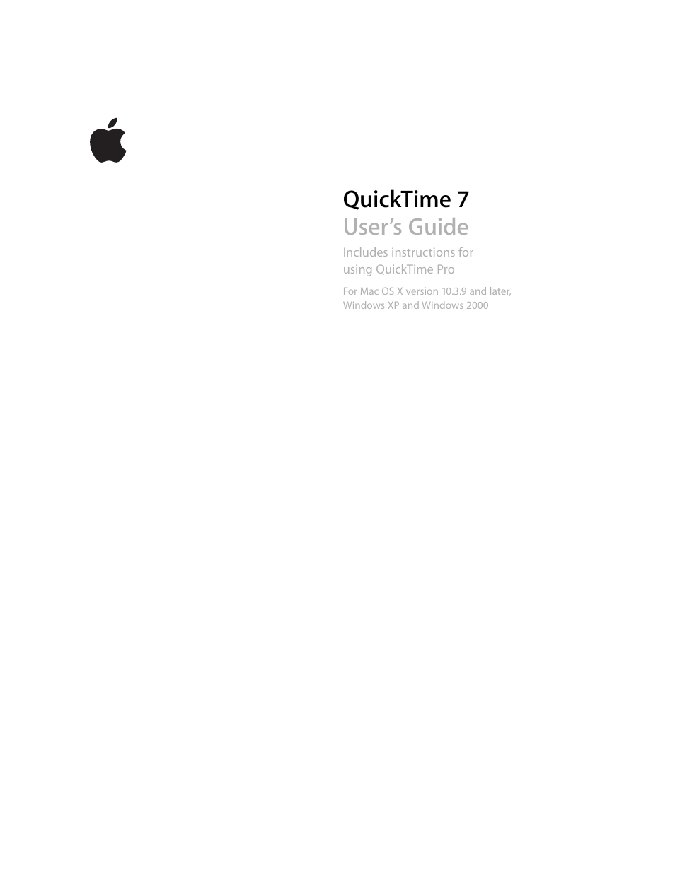 apple quicktime 7 user manual 62 pages rh manualsdir com Apple QuickTime Trailers Apple QuickTime Trailers