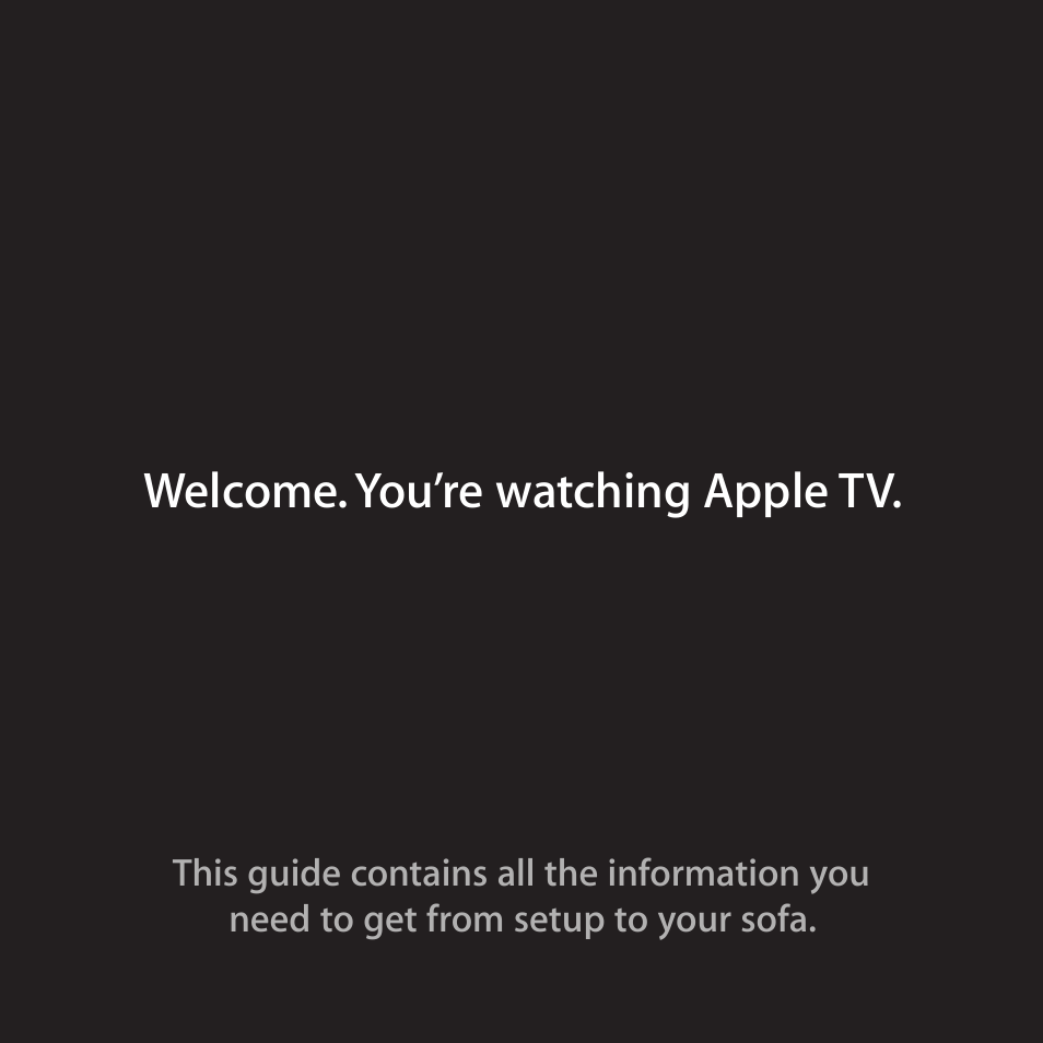 apple tv 2nd generation user manual 36 pages rh manualsdir com Apple TV Digital Output Apple TV Manual