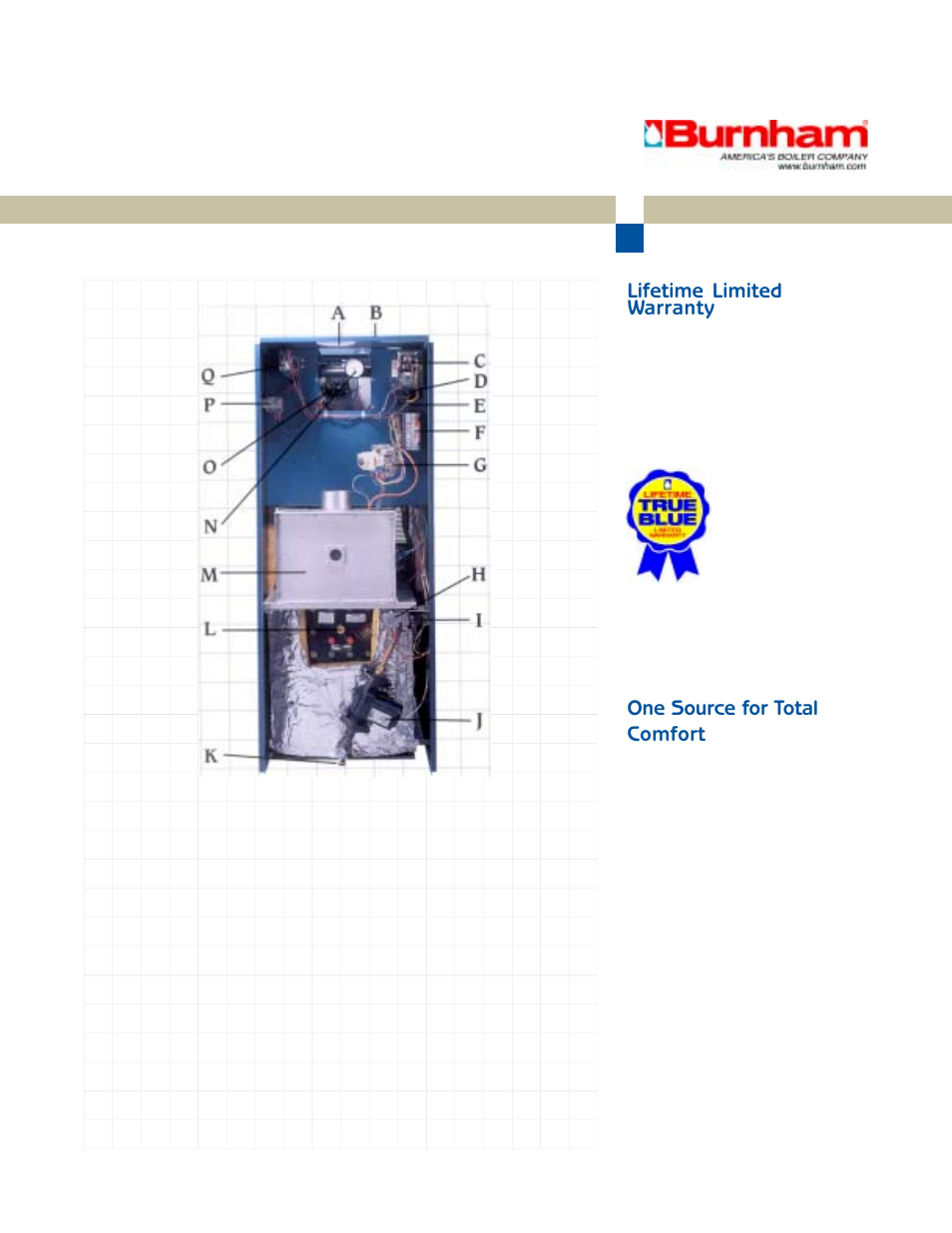 Lifetime Limited Warranty One Source For Total Comfort Burnham Gas Boiler Wiring Diagrams Minuteman Ii User Manual Page 4 6