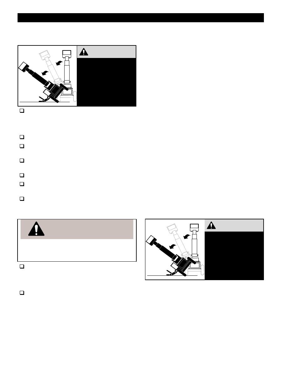 Warning, General operating procedures | Lull 644B Operation Manual User  Manual | Page 26 / 42
