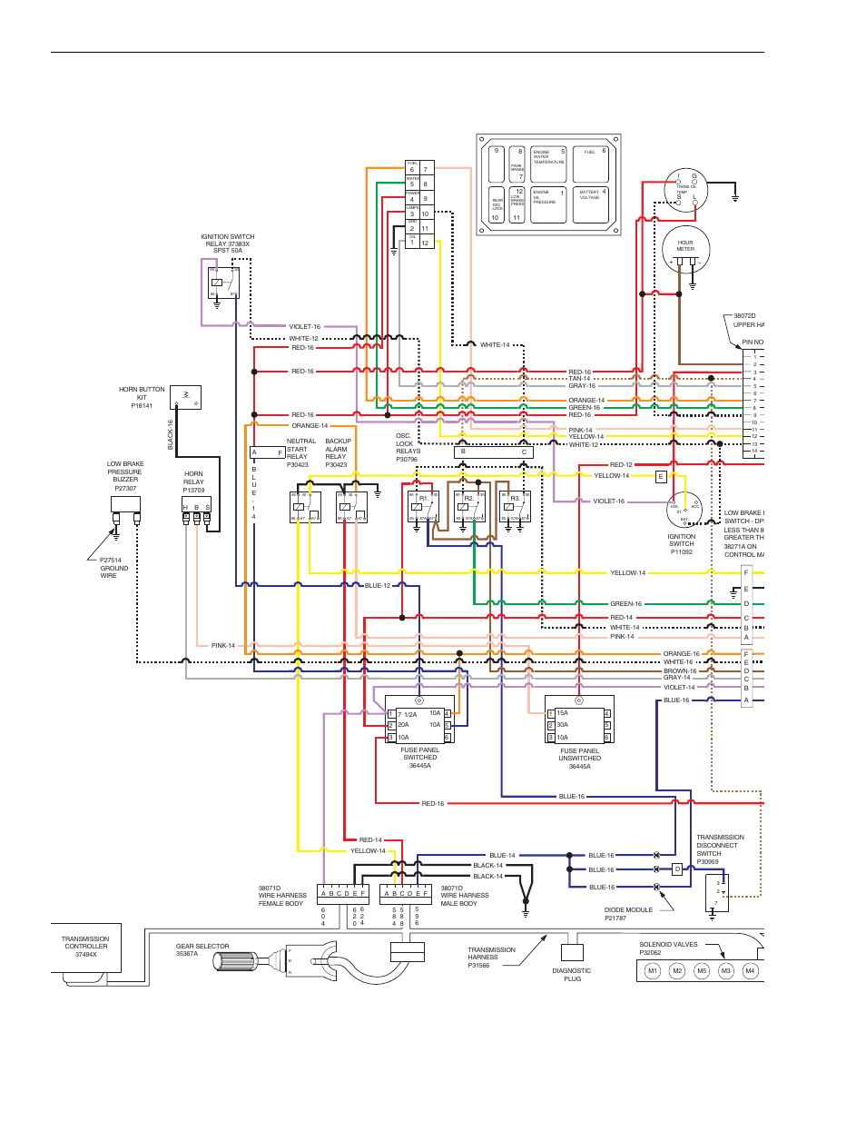 lull 6k service manual page108 lull wiring diagrams atlas copco wiring diagram \u2022 free wiring Grove Lifts Wiring Schematics at panicattacktreatment.co