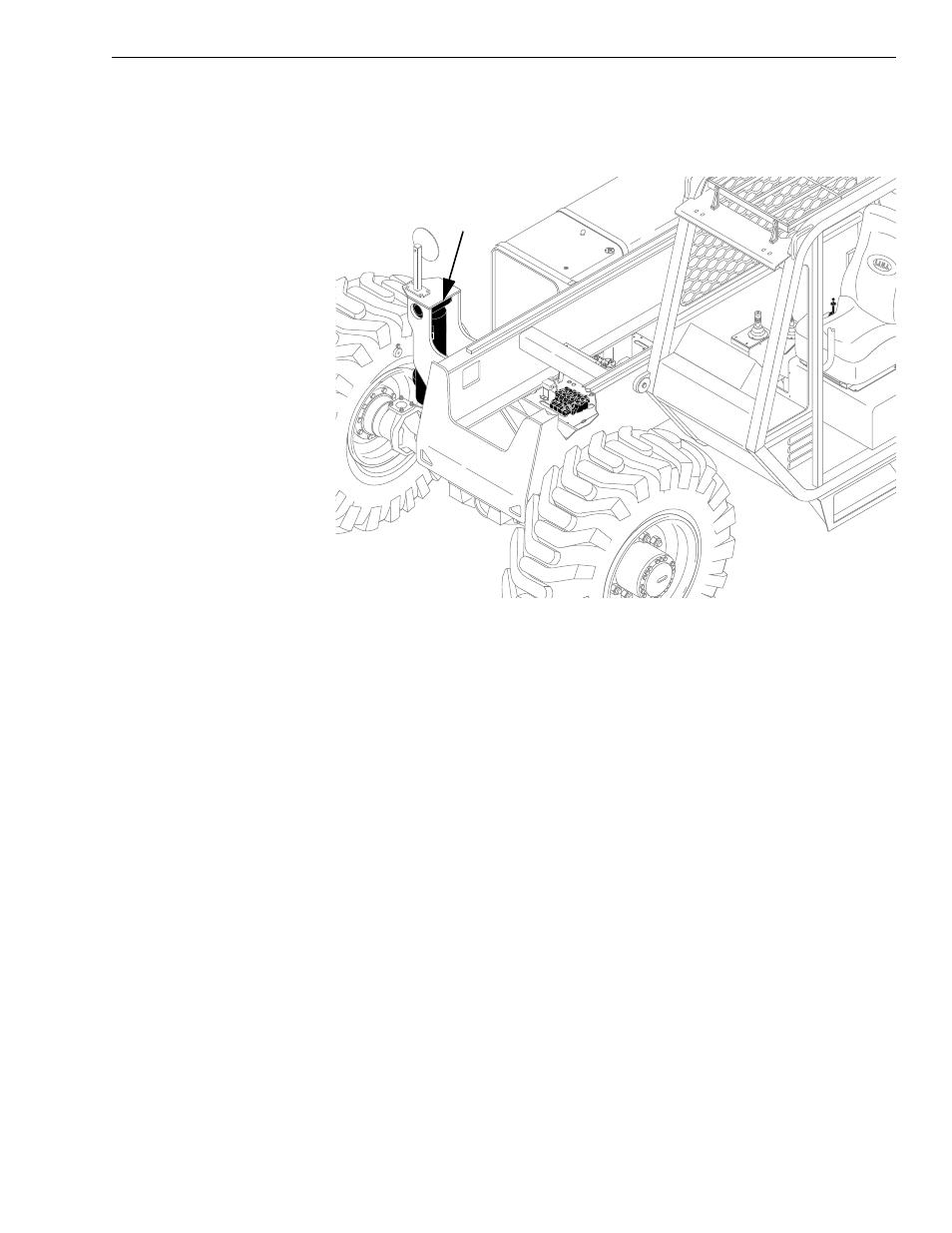 Frame tilt cylinder | Lull 6K Service Manual User Manual | Page 511 / 636