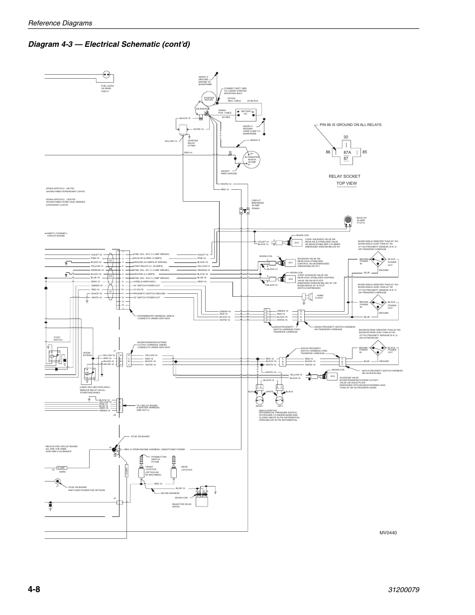 diagram 4 3 electrical schematic cont d reference diagrams rh manualsdir com