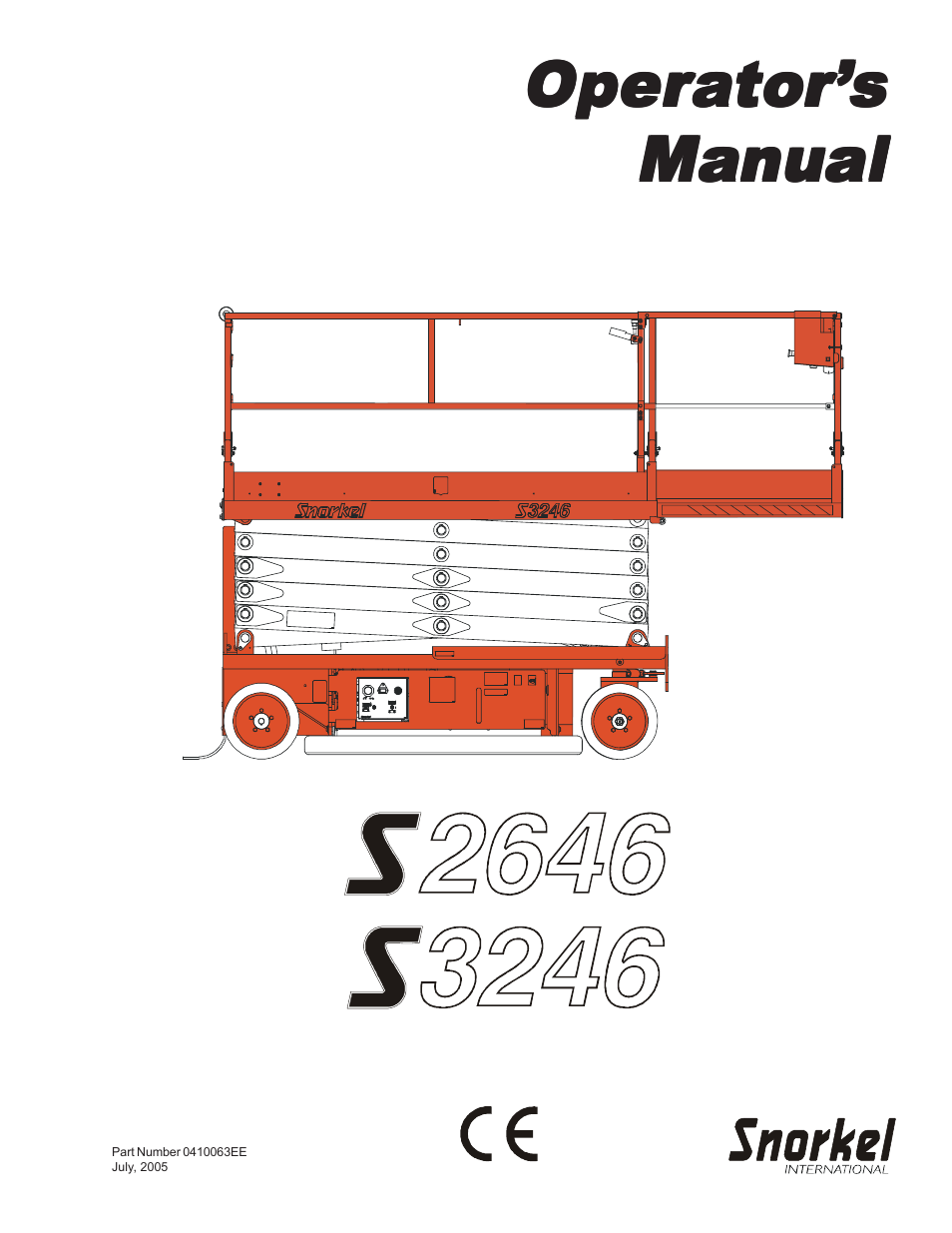 aem aerial platform safety manual pdf