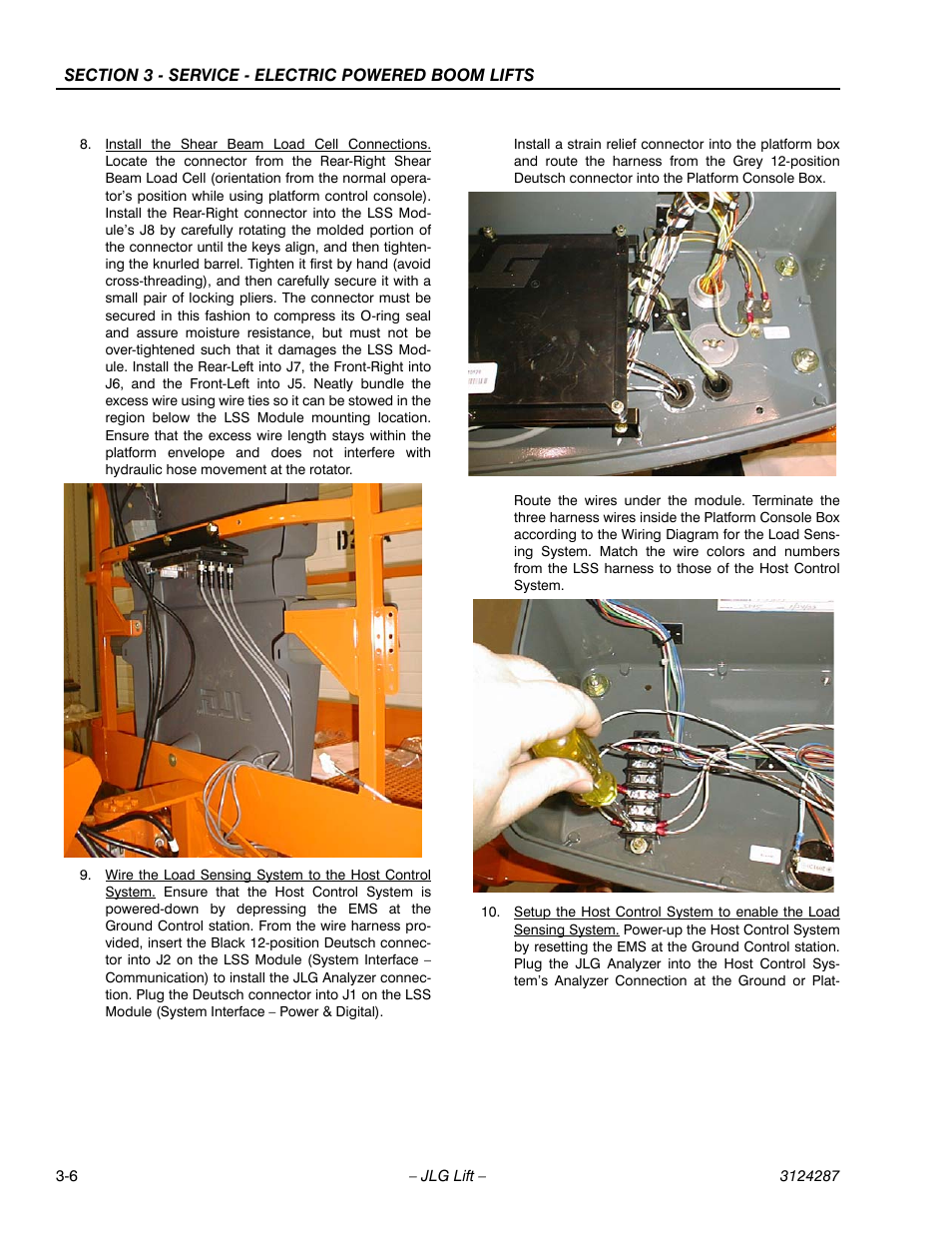 Jlg Lss Boom User Manual Page 46 68 Wiring Harness