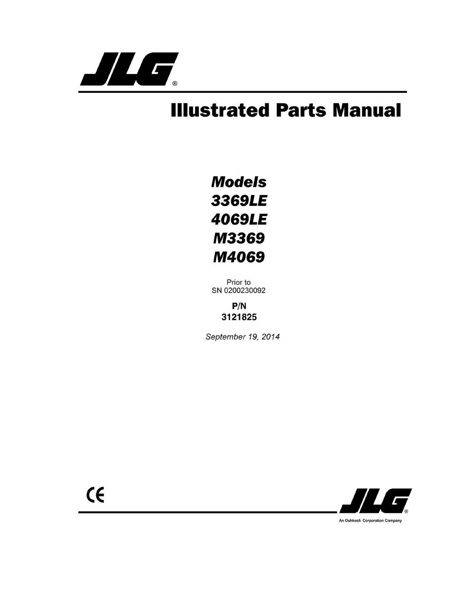 jlg parts online