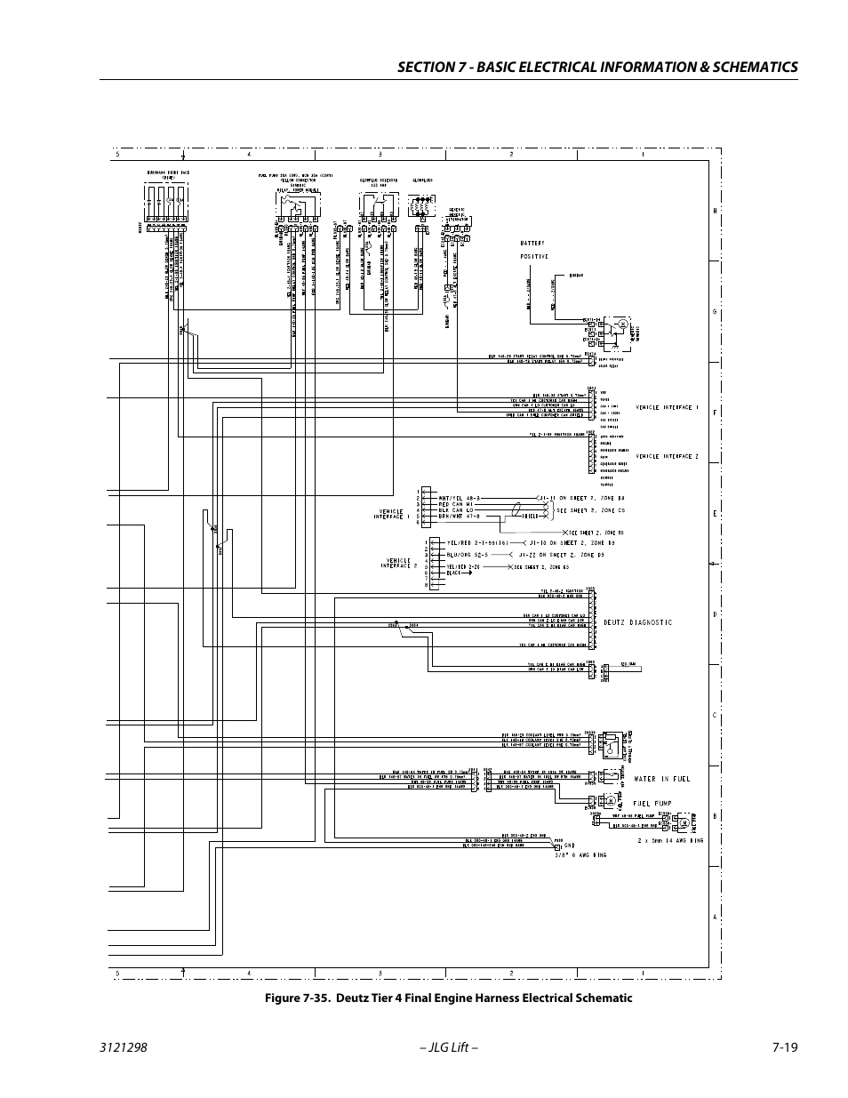 JLG 660SJ Service Manual User Manual | Page 319 / 328 | Also for: 600S  Service Manual