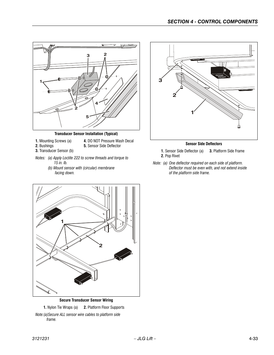 JLG 15/20MSP Service Manual User Manual | Page 89 / 174 | Also for