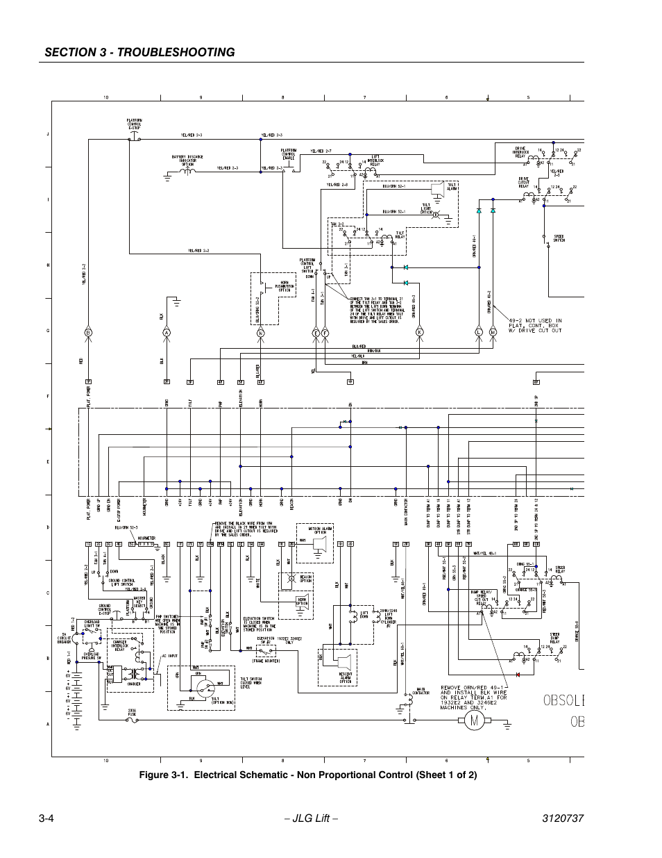 jlg 3246e2 ansi service manual user manual page 72 86 also for rh manualsdir com 4 Pin Trailer Diagram 7 Pin Trailer Wiring Diagram
