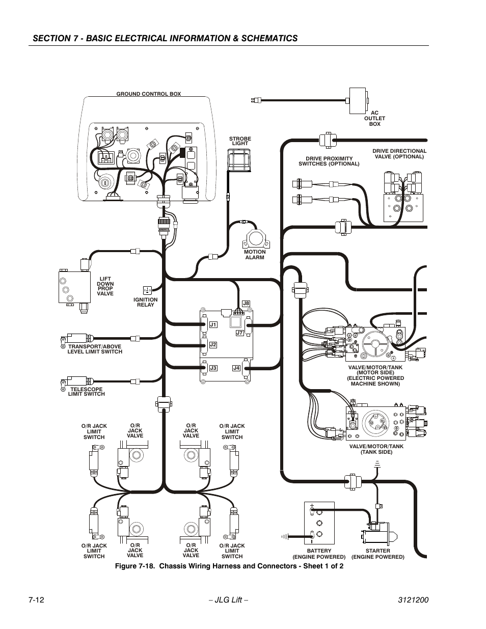 Jlg T500j Service Manual User Page 212 234 Proximity Switch Wiring Schematic