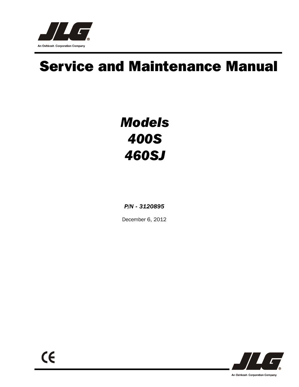 jlg 460sj service manual user manual 462 pages. Black Bedroom Furniture Sets. Home Design Ideas