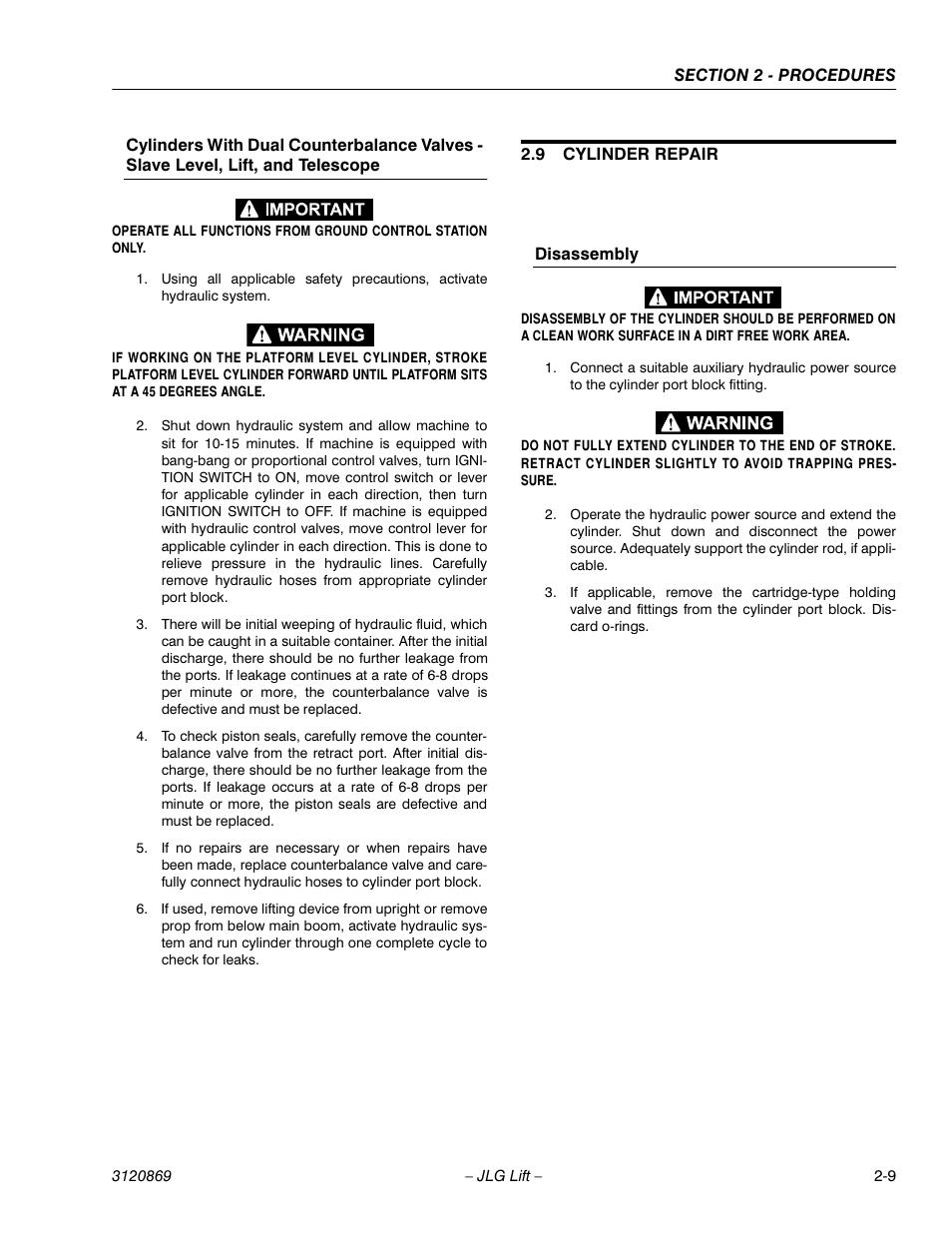 Jlg 450aj Service Manual User Manual