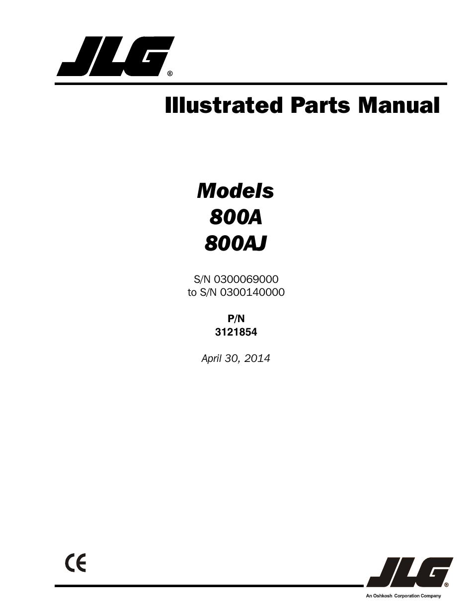 jlg boom lift service manual