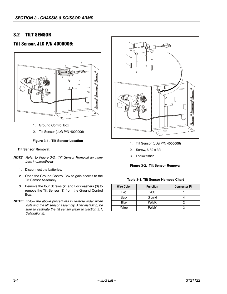 Level Sensor Wireing Diagram On Jlg 1230es 42 Wiring