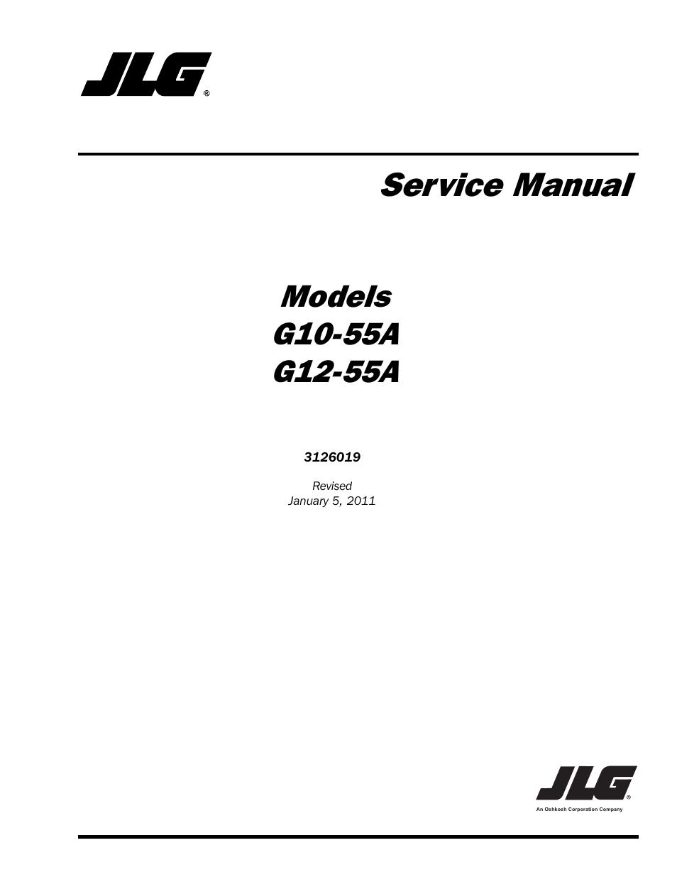JLG G1255A Service Manual User Manual 200 pages – Jlg Model 42 Wiring Diagram