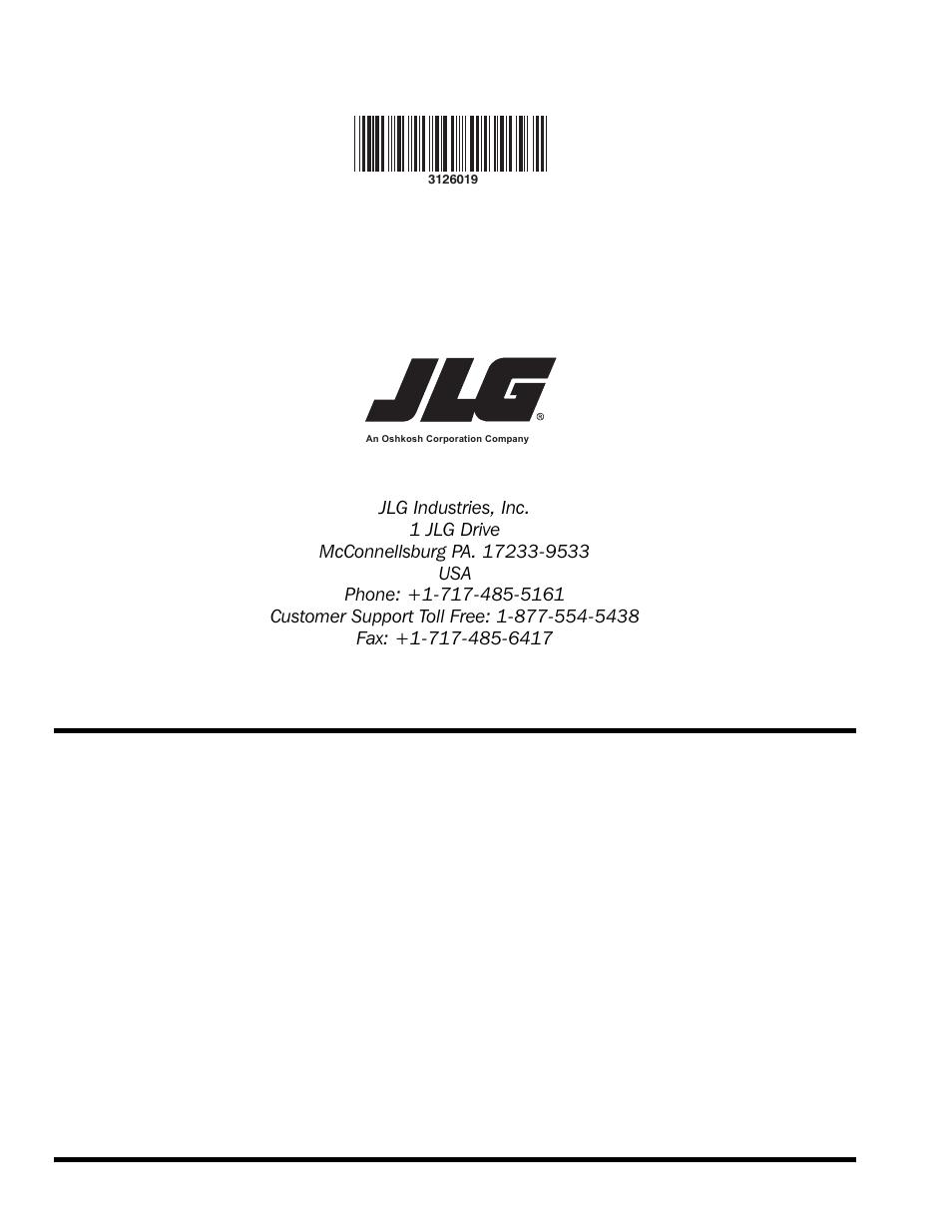 Jlg G12 55A Service Manual User Manual - Berkshireregion