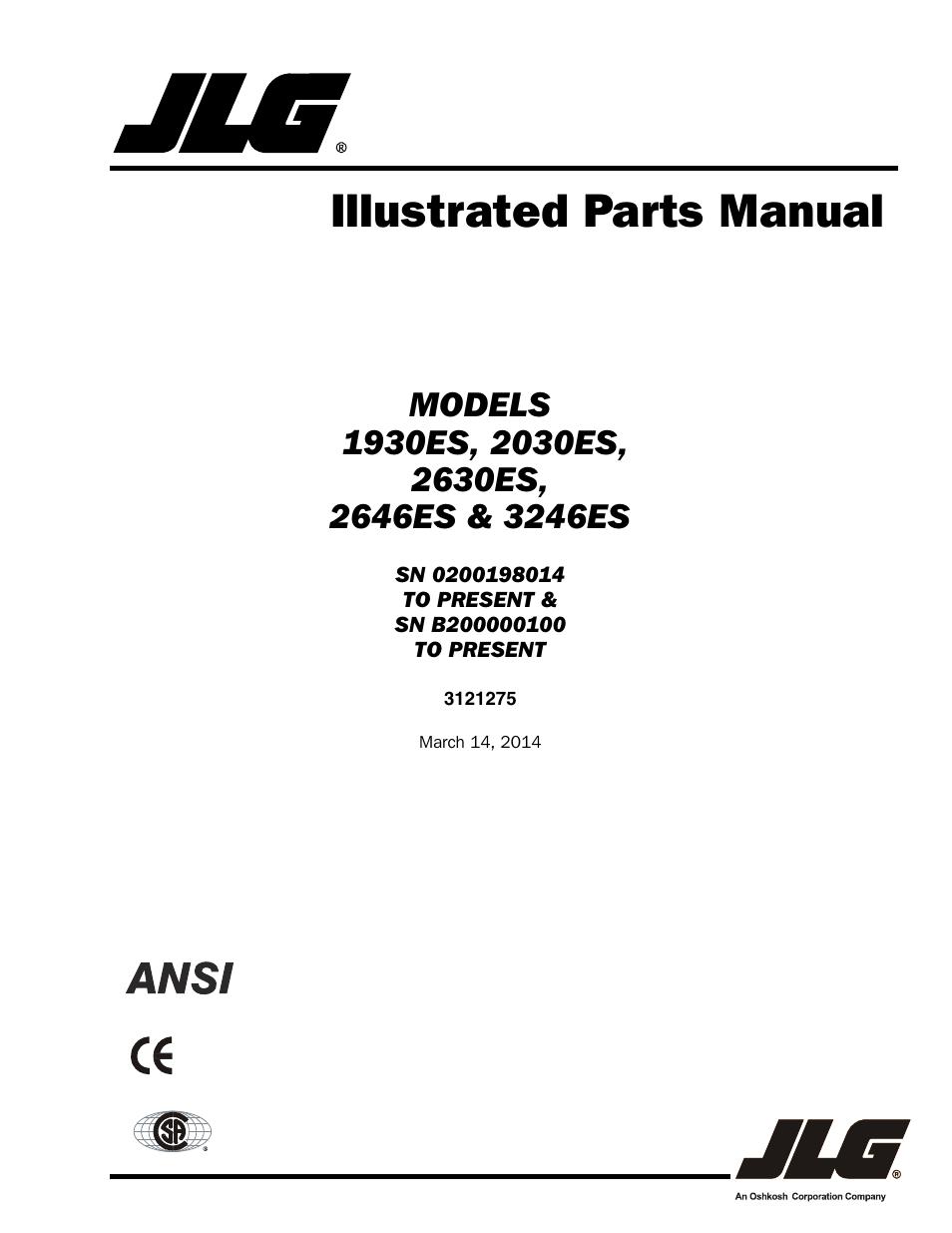 Jlg 1930es Wiring Diagram - Wiring Diagram And Schematics