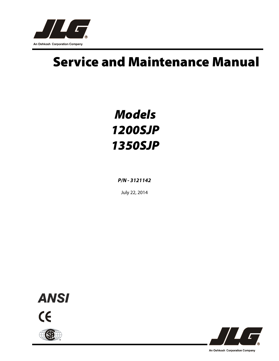 jlg sjp service manual user manual pages also for jlg 1350sjp service manual user manual 554 pages also for 1200sjp service manual