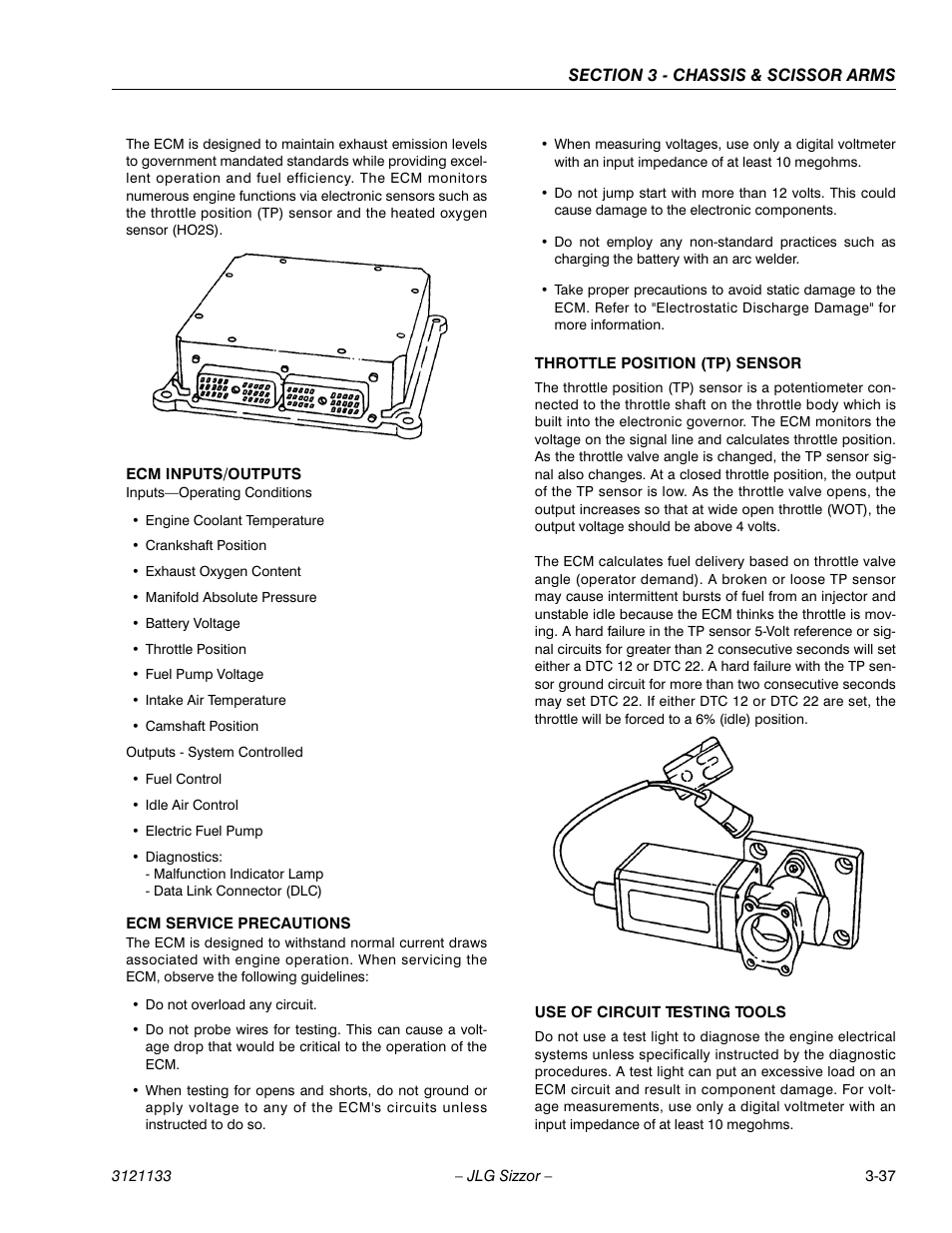 JLG 4394RT Service Manual User Manual   Page 73 / 228   Also for: 3394RT  Service Manual