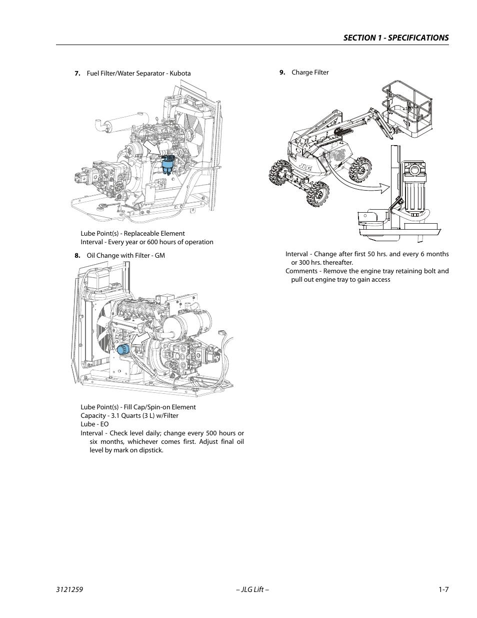 JLG 340AJ Service Manual User Manual | Page 23 / 348