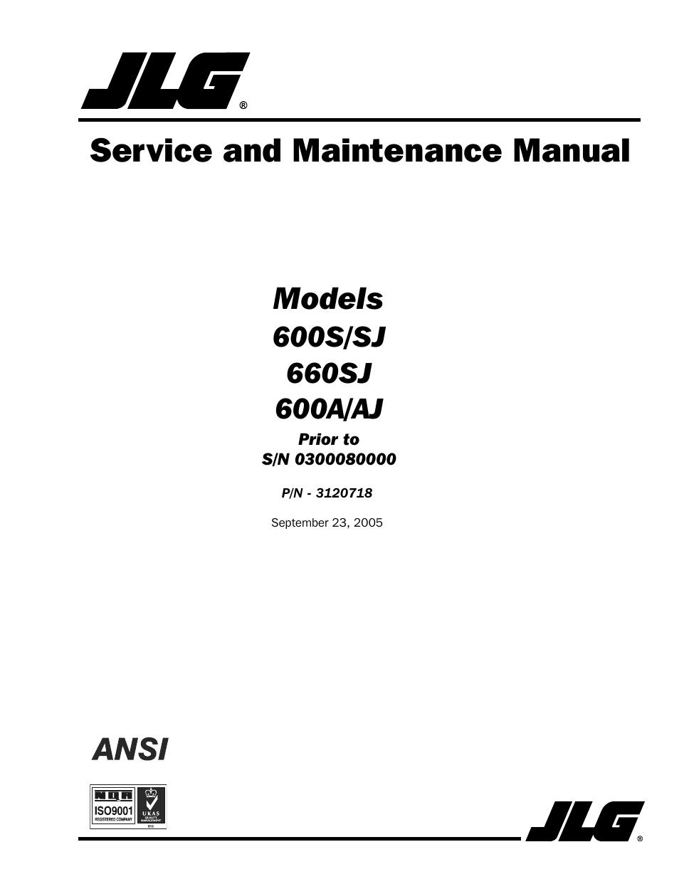jlg 660sj ansi service manual user manual 322 pages also for rh manualsdir com Deutz -Fahr Manual Deutz Repair Manual