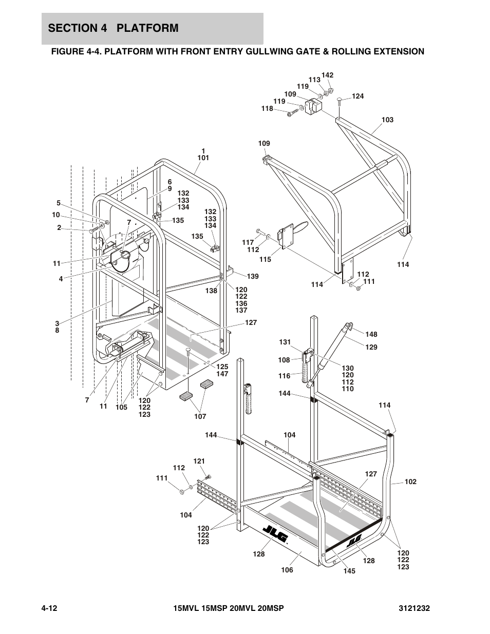 Jlg 15  20msp Parts Manual User Manual
