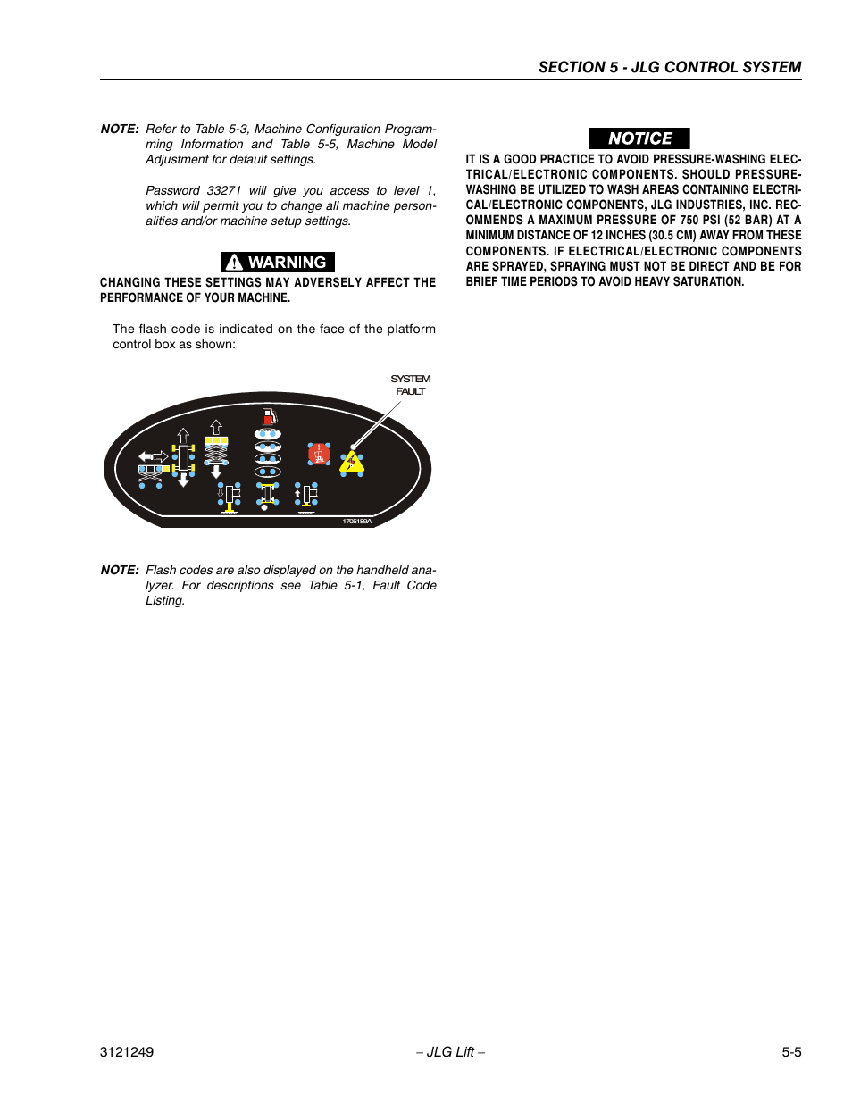 JLG 4394RT Service Manual User Manual   Page 211 / 268   Also for: 3394RT  Service Manual