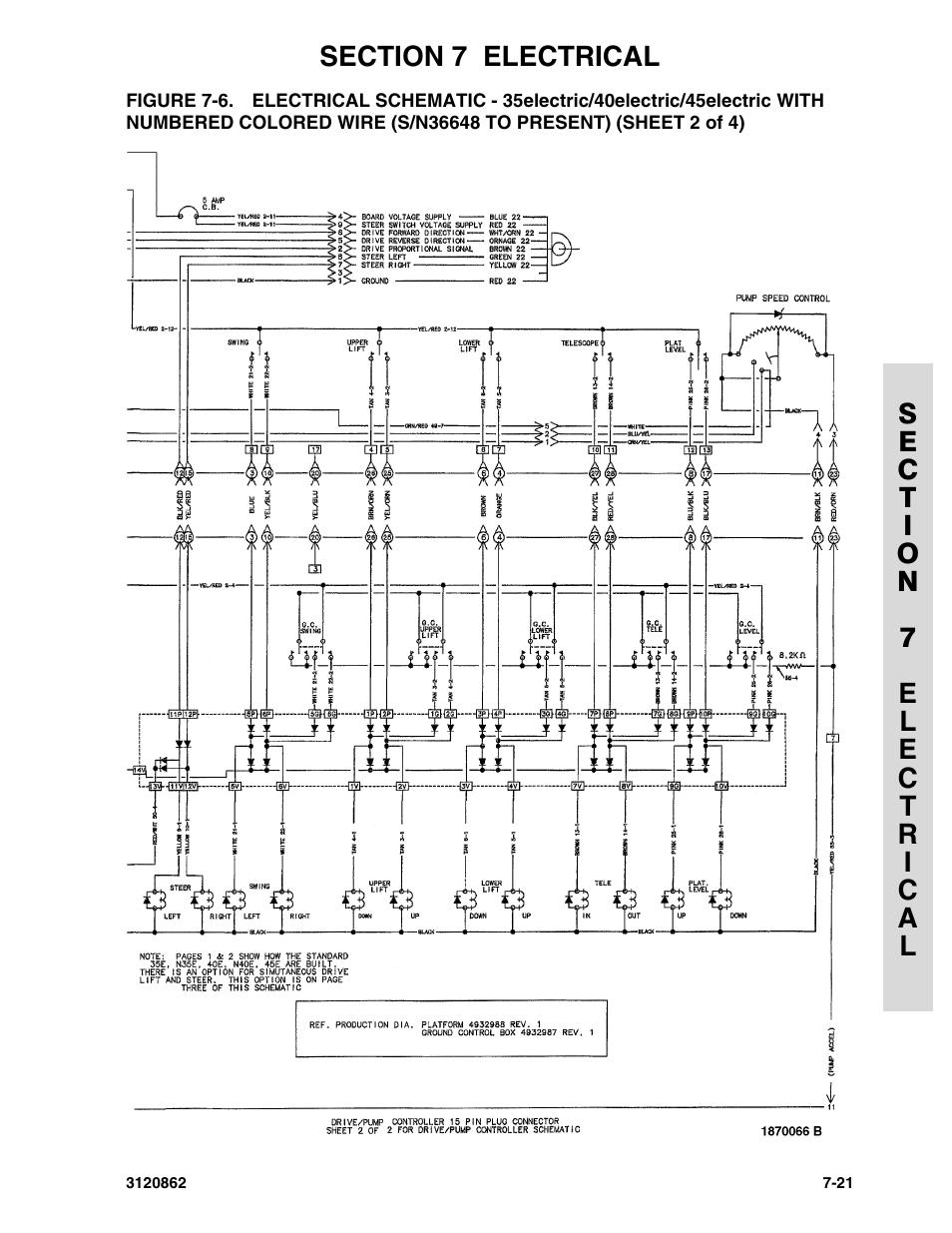 jlg n40e wiring diagram automotive wiring diagram u2022 rh nfluencer co JLG E450AJ JLG E450AJ