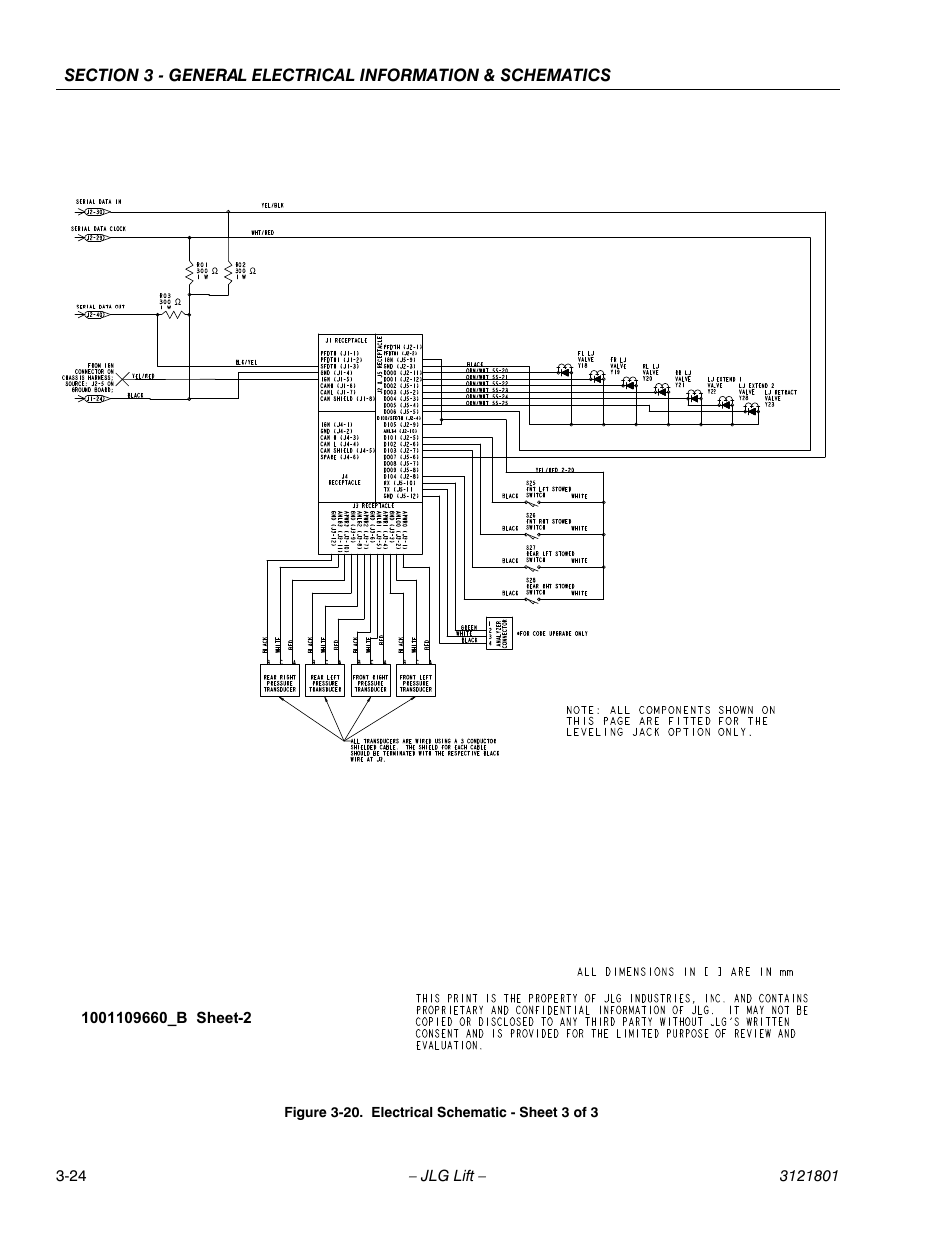 jlg 260 mrt wiring diagram wiring diagram and schematics  electrical schematic sheet 3 of 3 24 jlg 260mrt service manual user manual