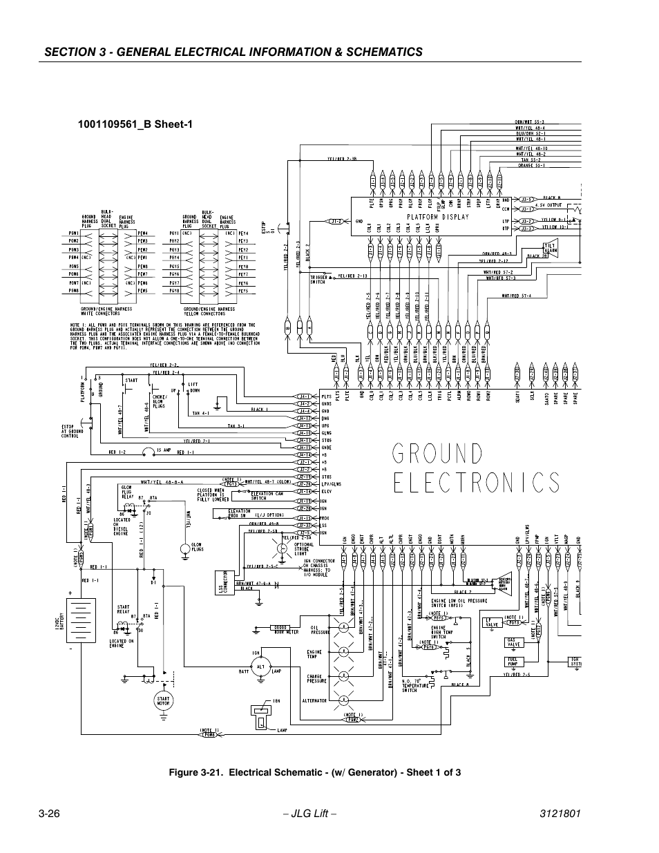 Jlg 260 Mrt Wiring Diagram Page 2 And Schematics. Jlg Scissor Lift Wiring  Diagram Model 6832 ...