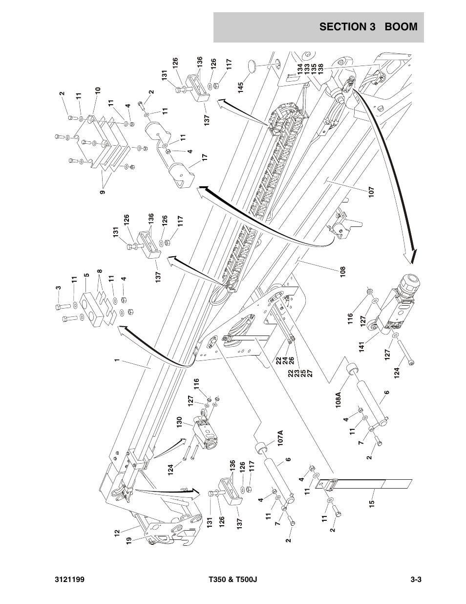 Jlg T500j Parts Manual User Manual