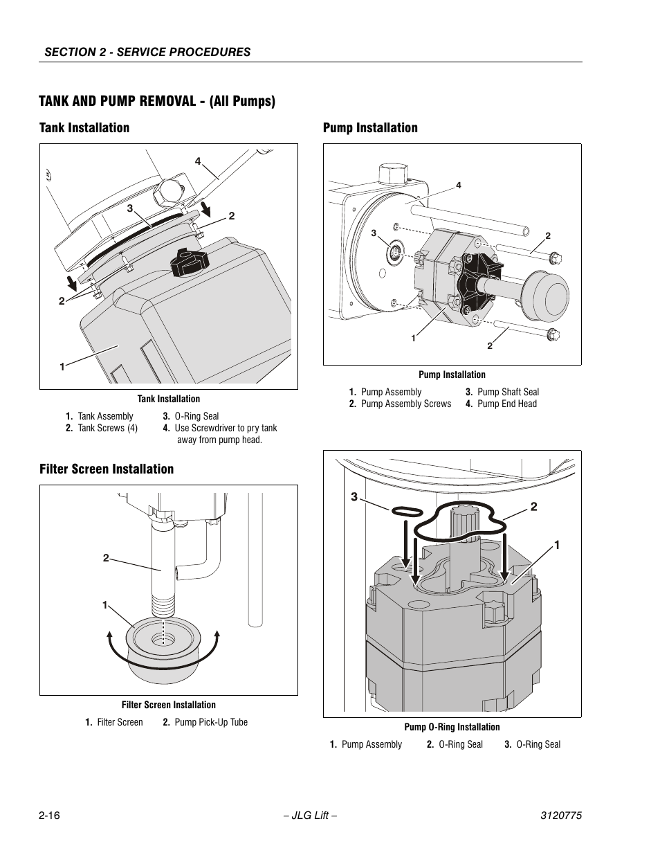 Tank And Pump Removal
