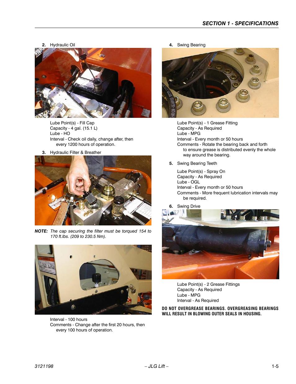 Jlg T350 Service Manual User Manual